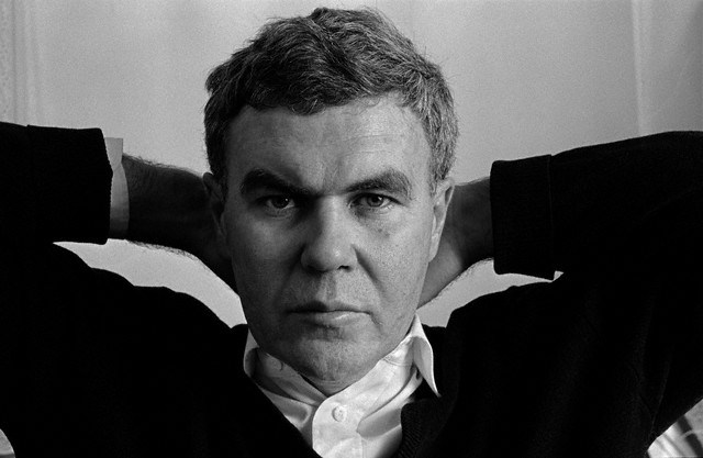 Raymond Carver, pictured in Syracuse, New York, in 1984.